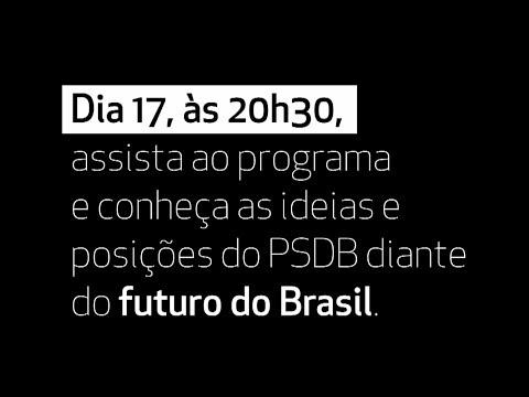 Assista à inserção do PSDB veiculada a partir desta terça-feira nas emissoras de rádio e TV de todo o país