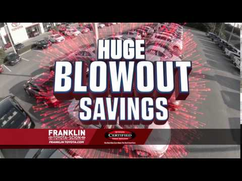Franklin Toyota - Used Car Blowout