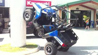 3. 2012 Polaris RZR 800 LE Boardwalk Blue