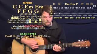 Video All I Ask (Adele) Guitar Lesson Chord Chart - Capo 4th and 5th MP3, 3GP, MP4, WEBM, AVI, FLV April 2018