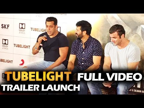 Tubelight Trailer Launch - FULL Press Conference - Salman Khan, Sohail Khan, Kabir Khan