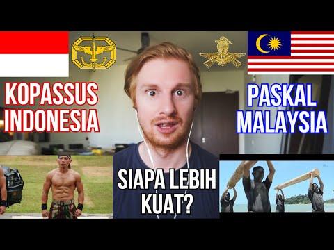 KOPASSUS INDONESIA v PASKAL MALAYSIA // SIAPA LEBIH KUAT?