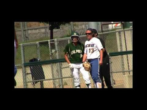 Cal Poly versus UC Santa Barbara Highlights (April 17, 2013)