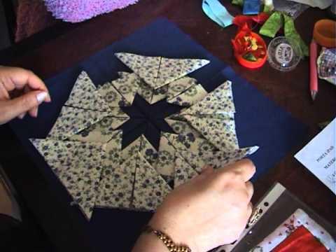 stella in patchwork - realizzazione
