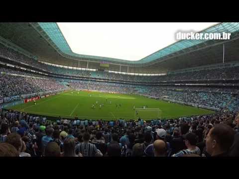 Grêmio 2 x 1 Figueirense - Brasilierão 2016 - Gol do Grêmio (vídeo: Foresti) - Geral do Grêmio - Grêmio