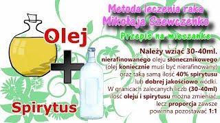 Metoda Leczenia Raka Mikołaja Szewczenko.