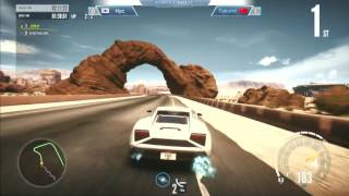 E-Sports Arena 한중이벤트 매치 4경기 Hyo vs TAKUMI [NEED FOR SPEED™ EDGE], Need for Speed, video game