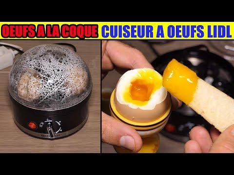 lidl cuiseur a oeufs test oeufs a la coque silvercrest sed 400w Egg Cooker eierkocher