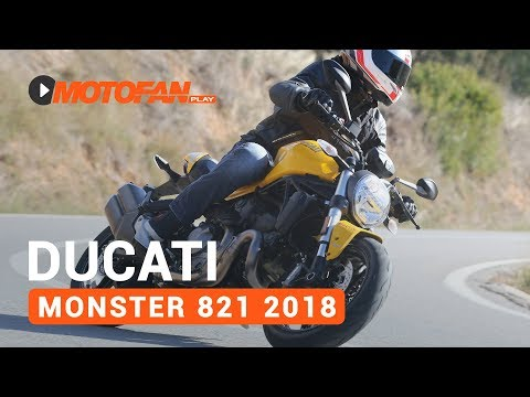 Vídeos de la Ducati Monster 821