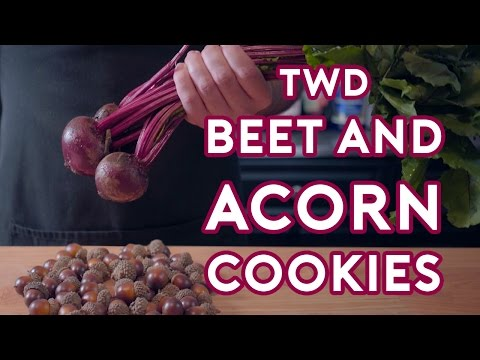 Binging with Babish: Carols Beet & Acorn Cookies