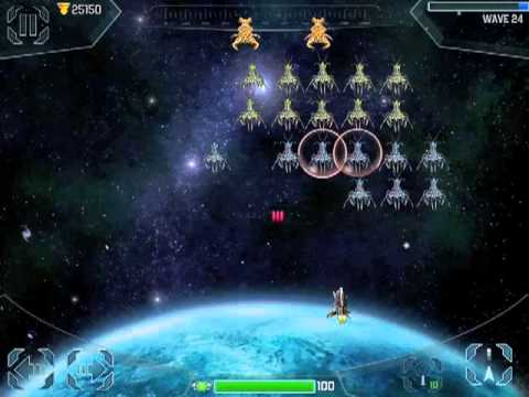 Video of Space Cadet Defender Invaders
