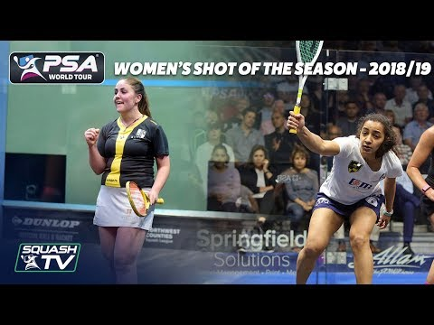 Squash: Women's Shot of the Season Shortlist 2018/19
