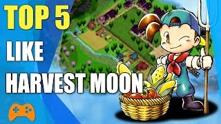 ➤Top 5 games like Harvest Moon  Similar games to Harvest Moon■ Farm For Your Life■ World's Dawn■ Animal Crossing■ Rune Factory Series■ Stardew Valley➤ Like and subscribe for more video!Subscribe my channel click here : https://goo.gl/EOgO4t➤ Free Game Online : https://goo.gl/ApdD47➤ Mobile Game : https://goo.gl/2CKLRC➤ PC & Console Game : https://goo.gl/EEGBdy➤ Thank you for watching!