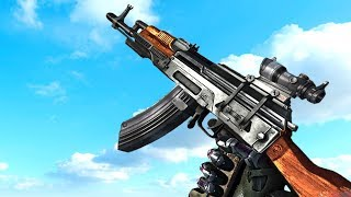 This is AK-74. I present you the improved version of the ever popular and most produced assault rifle in the world. So let's check...