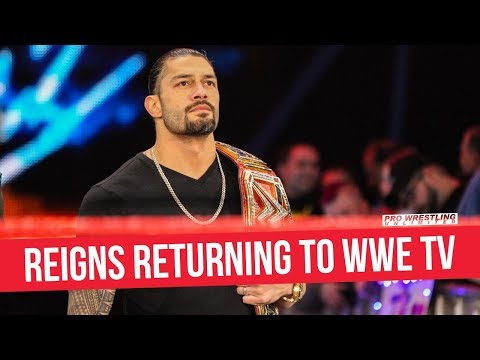 Roman Reigns Returning To WWE TV In December
