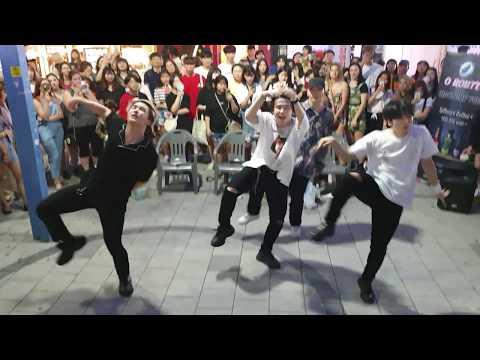 《BTS_#Fire》20190809_194820#KingdomS(킹덤즈)#막곡 방탄소년단#불타오르네 홍대버스킹 #SnowHorse