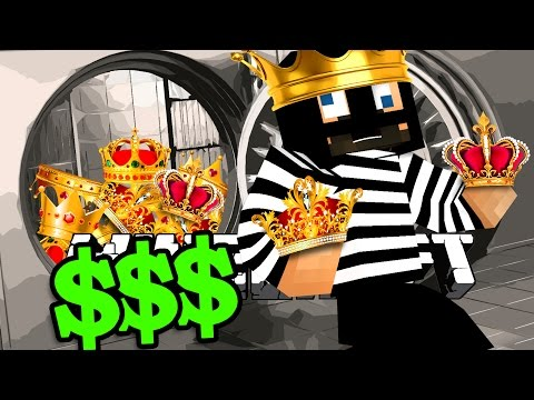 Minecraft: BANK HEIST | STEALING FROM THE KING?! PT.2 (видео)