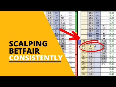 Scalping Betfair Markets Consistently For Profit