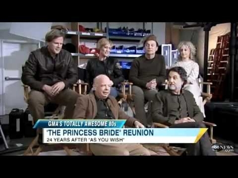 A Princess Bride reunion on Good Morning America from 2011