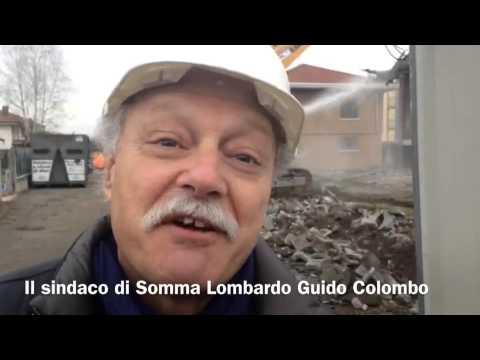 Inziate le demolizioni delle case delocalizzate di Malpensa