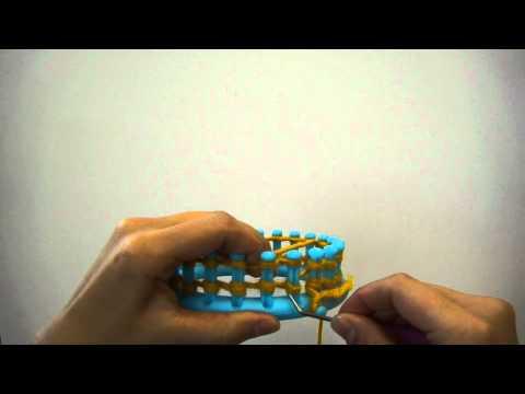 Knitting Loom (Strickring) – Erste Schritte – Schlauch (Video ist auch für Serenity Loom geeignet)