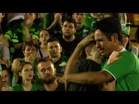 Flugzeugunfall mit der brasilianischen Fußballmannschaf ...