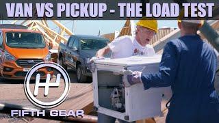 Van VS Pickup - The Load Test | Fifth Gear by Fifth Gear
