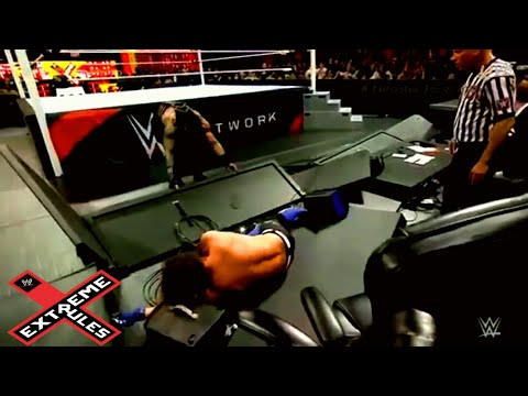 WWE : Roman Reigns vs Aj Styles    Extreme Rules Match