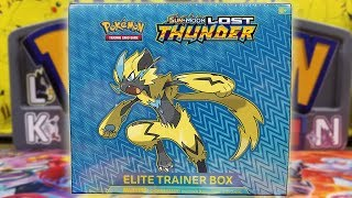 Pokemon Lost Thunder Elite Trainer Box Opening! by The Pokémon Evolutionaries