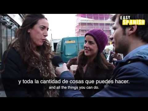 spanish - Antonio talks with Spanish speaking people in London - about London! :D Easy Languages is a non-profit video project aiming at supporting people worldwide to...