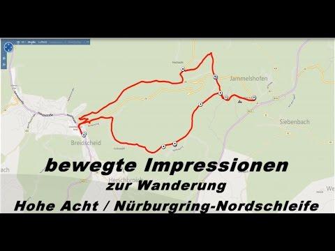 Wanderung Hohe Acht   Nürburgring Nordschleife   Erlebnis + Faszination Eifel