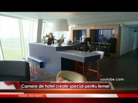 Camere de hotel create special pentru femei – VIDEO