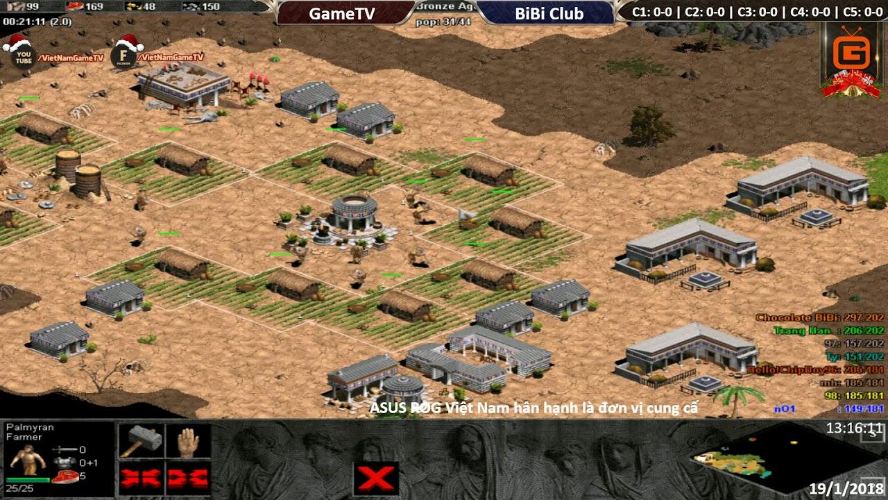 4vs4 Random | GameTV vs BiBi Club | Ngày: 19-01-2018. BLV: G_Man