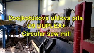 Výkonná uhlová píla StrojCAD D9 Duplex+