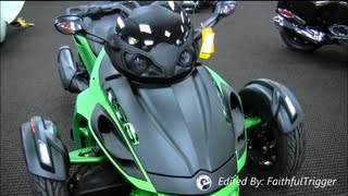 9. 2013 Can-Am Spyder RSS Walk Around