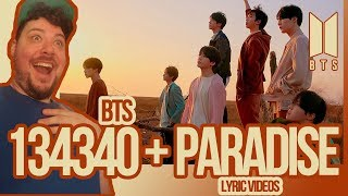 Mikey Reacts to BTS '134340' and 'Paradise' Lyric Videos
