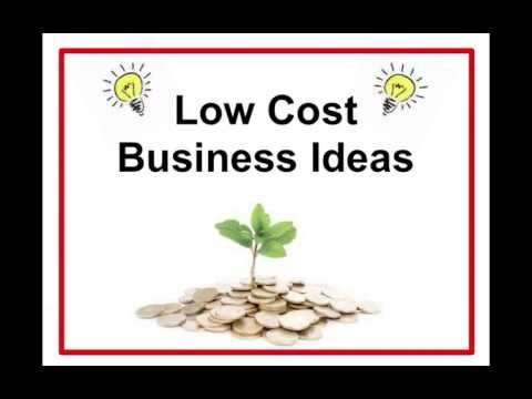 Low Cost Business Ideas – Small Business Plan To Get You Into Profit