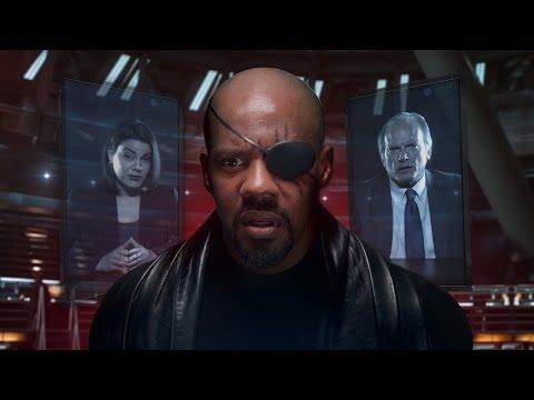 A Parody of  Avengers Age of Ultron  Where Nick Fury Battles a Conference Call Riddled With Technical