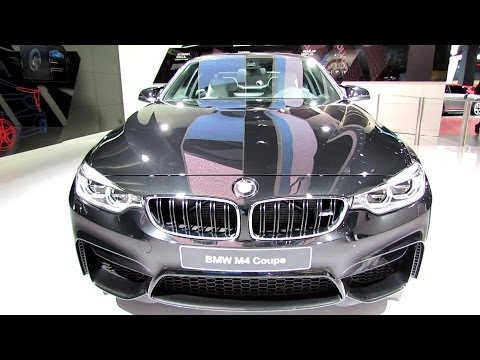2015 BMW M4 Coupe – Exterior and Interior Walkaround – Debut at 2014 Detroit Auto Show