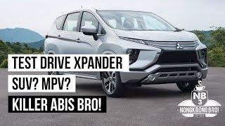 Video [Test Drive] Mitsubishi Xpander - Test drive singkat GIIAS 2017 - INDONESIA [Nongkrong Bro] MP3, 3GP, MP4, WEBM, AVI, FLV Agustus 2017