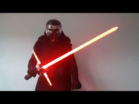 Cosplay/Costume Star Wars 7,8 Kylo Ren TFA + lightsaber custom