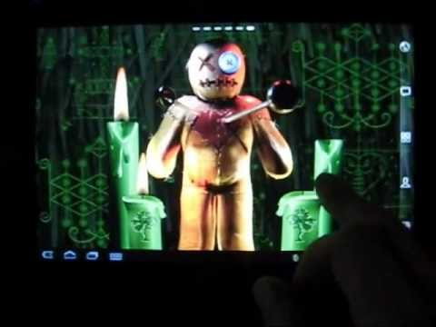 Video of Voodoo Doll Live Wallpaper