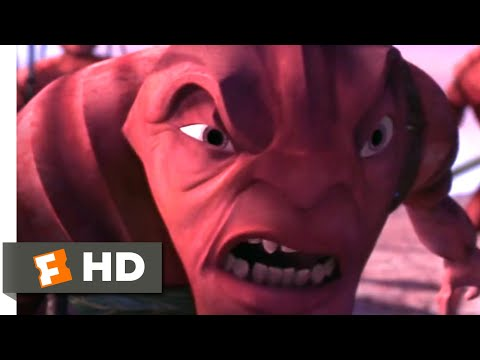 Antz (1998) - The Mad General Mandible Scene (10/10)   Movieclips
