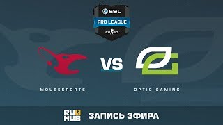 mousesports vs. OpTic Gaming - ESL Pro League S5 - de_cobblestone [CrystalMay, SleepSomeWhile]