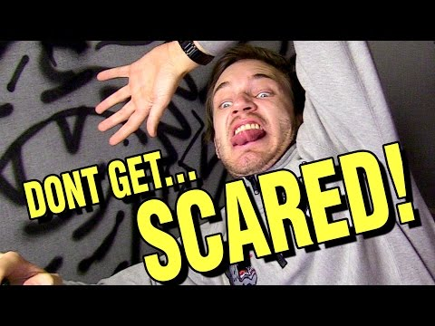 TRY NOT TO GET SCARED CHALLENGE!! (видео)