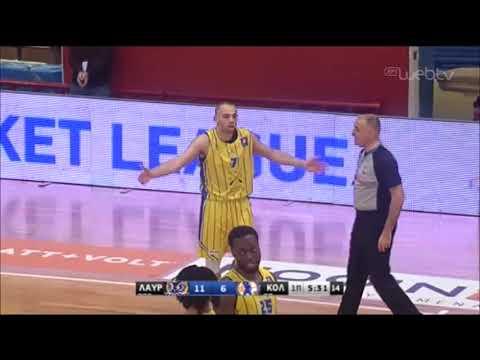 Basket League 2019-2020: ΛΑΥΡΙΟ ΚΟΛΟΣΣΟΣ | 18/01/2020 | ΕΡΤ