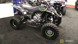 6. 2017 Yamaha YFZ450R SE Sport ATV - Walkaround - 2017 Montreal Motorcycle Show