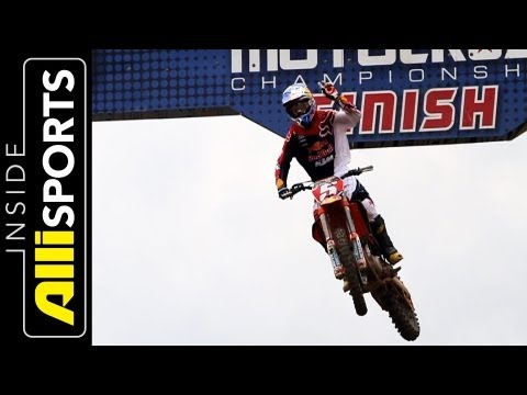 KTM's 2013 Team, 450sfx Moto Intro with Ryan Dungey, Ken Roczen, Marvin Musquin | Inside Alli Sports