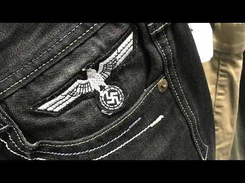 Jewish man finds swastika on shorts at Goodwill store