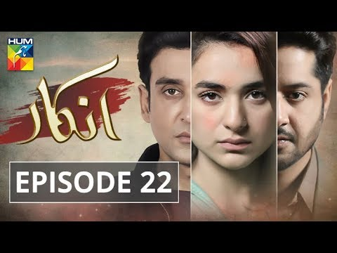 Inkaar Episode #22 HUM TV Drama 5 August 2019